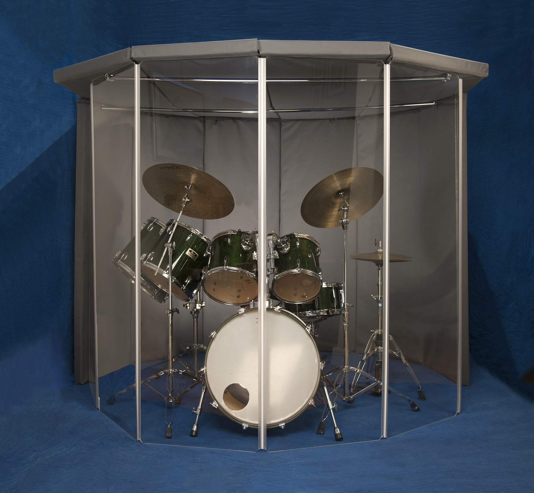 Drum Screens By Drumscreens Co Uk Drum Isolation Booth